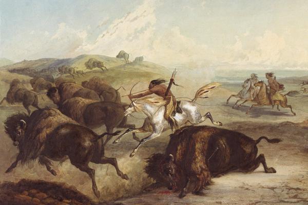 Cherokee-Indian-hunting